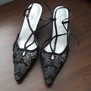 ❇Vintage Elegant beaded mini heels